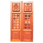 ... specification of floral carving temple door this temple door