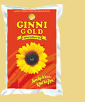 GINNI GOLD REFINED SUNFLOWER OIL
