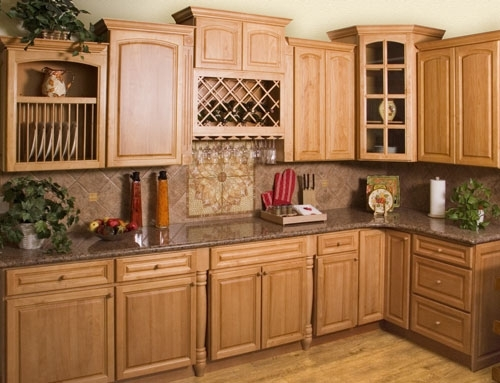 Design Ideas For Kitchens With Oak Cabinets ~ Kitchen color ideas with oak cabinets afreakatheart