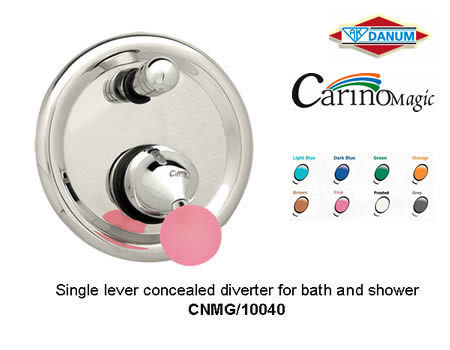 SINGLE LEVER CONCEALED DIVERTER FOR BATH & SHOWER