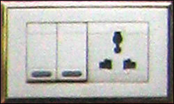 Modular Switch Plate With Socket
