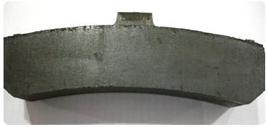 LOW FRICTION 'L' TYPE COMPOSITE BRAKE BLOCK FOR PASSENGER COACHES