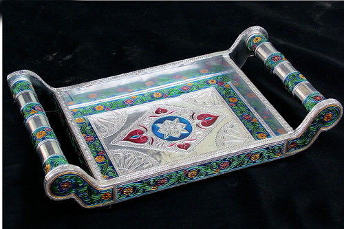 Meenakari Tray