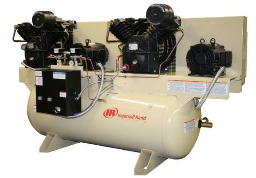 Electric-Driven Duplex Reciprocating Air Compressor