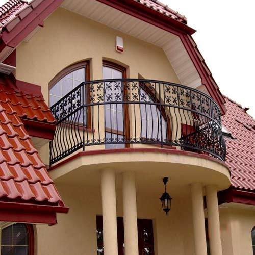 balcony railing in surat gujarat india balaji engineering