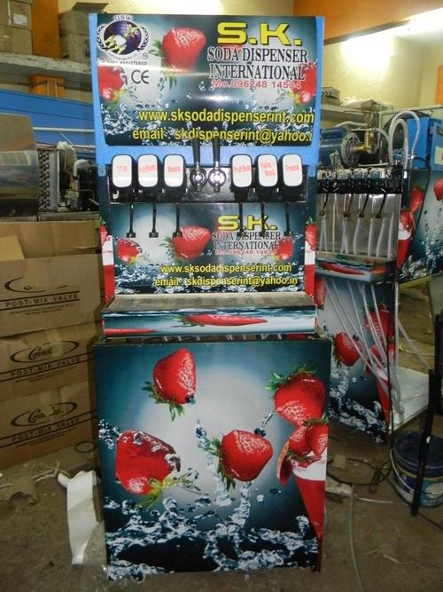 soda machine with maker