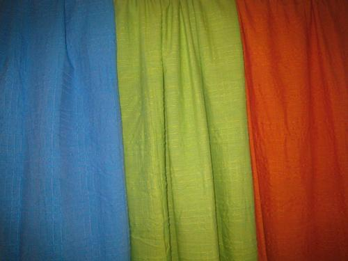 Single Colored Curtains