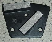 Grinding Plate with Diamond Segments