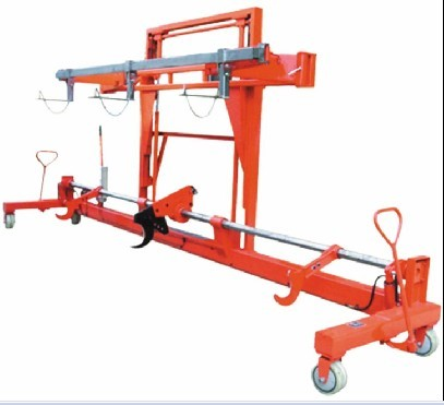 Twin Warp Beam With Harness Mounting Device-Hydraulic (St-Hbt-04)
