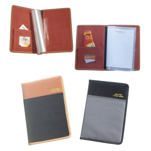 Executive Leatherite Display Book