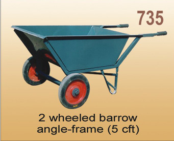 2 Wheeled Angle Frame Barrow