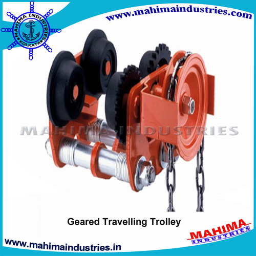 Geared Traveling Trolleys
