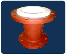 MS PTFE lined Concentric Reducer