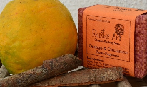Orange And Cinnamon Exotic Fragrance Bathing Soap