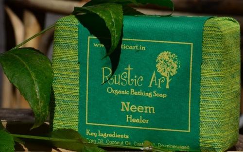 Organic Soap India Neem Organic Bathing Soap