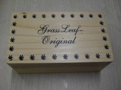 Leaf Wooden Box