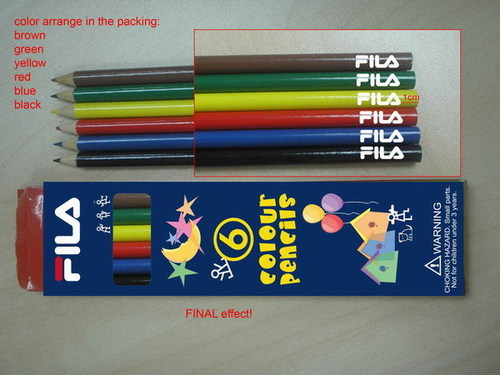 Advertising Color Pencils