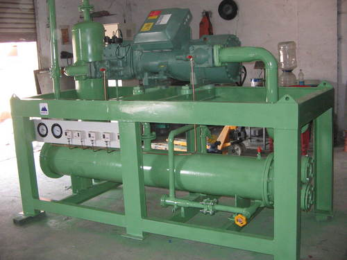 Screw Refrigeration Plant