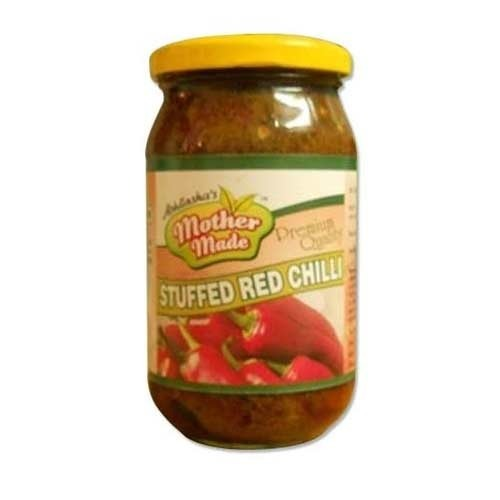 Stuffed Red Chilli Pickle