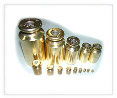 Brass Plated Knob Set