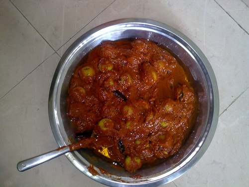 Usirikaya (Indian Gooseberry/Amla) Pickle