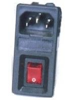 IEC Inlet With Fuse Holder
