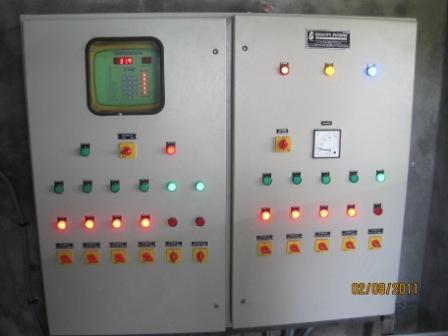 Control Panel For Fan- Pad In Poultry