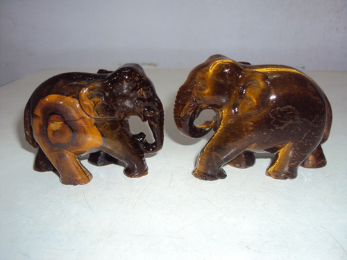 Elephant Pair Statue