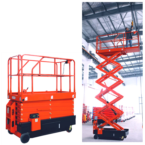 Work Platform-Scissor Type (Self Propelled)