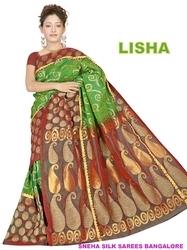 apparel fashion sarees shrungar silks sarees heavy embroidery sarees ...