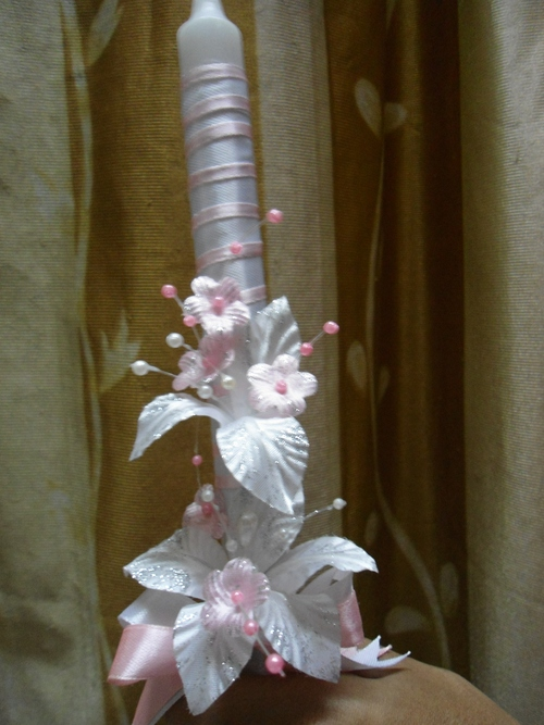 First Holy Communion Candle Decoration From 0 84 Hotref Com