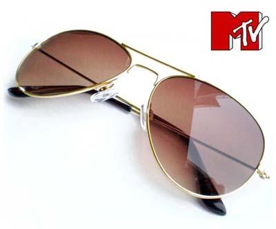 b8242a9033dcb Mtv Sunglasses Aviator Gold Frame Brown Lens « Heritage Malta