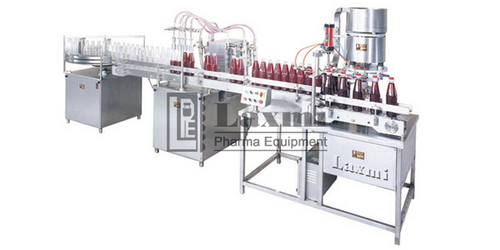 Automatic Four Head Liquid Filling Machine Model No. : ALFT-100