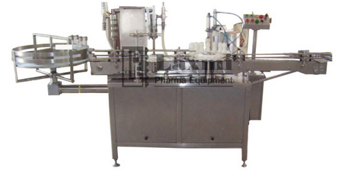 SEMI AUTOMATIC LIQUID FILLING MACHINE Model – LBPF - 50