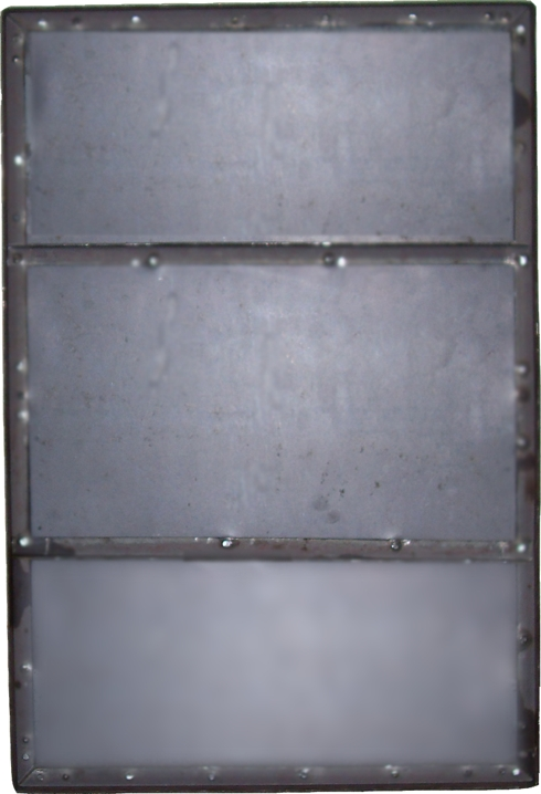 Centering Iron And Steel Plates
