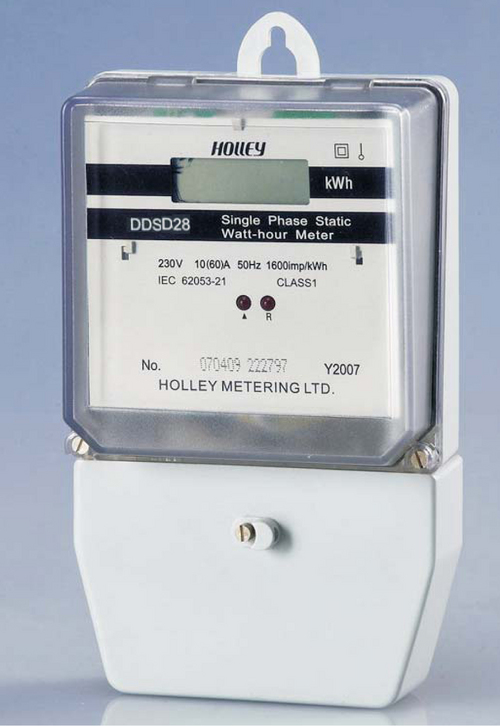 DDSD28 Single Phase Multi-Tariff Electricity Meter
