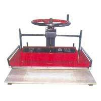 Wheel Type Manual Fusing Machine