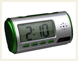 Spy Time Recording Digital Table Clock