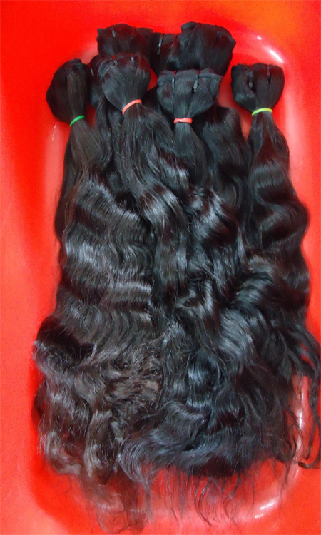 Machine Wefted Hair Extension