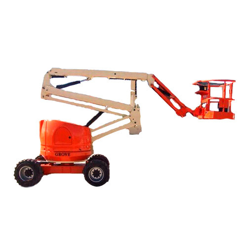 Articulated Boom Lift On Rent