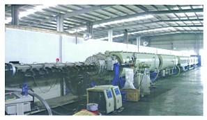 Large Diameter Water Service Pipe Extrusion Equipment