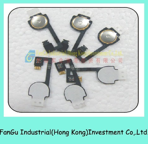Home Button Flex Cable for iphone4