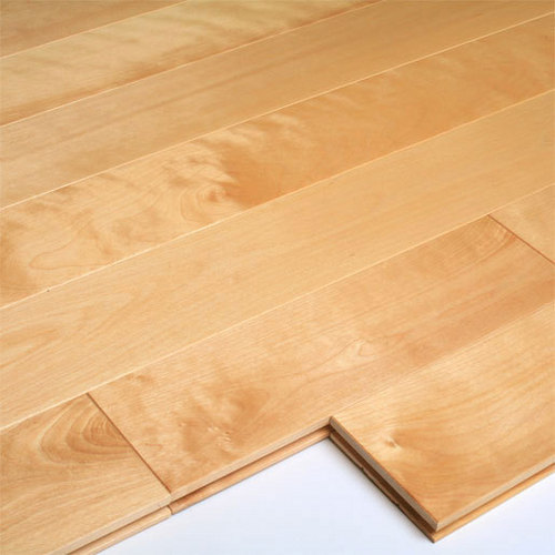 Birch light color wood flooring in huzhou zhejiang china for Birch hardwood flooring