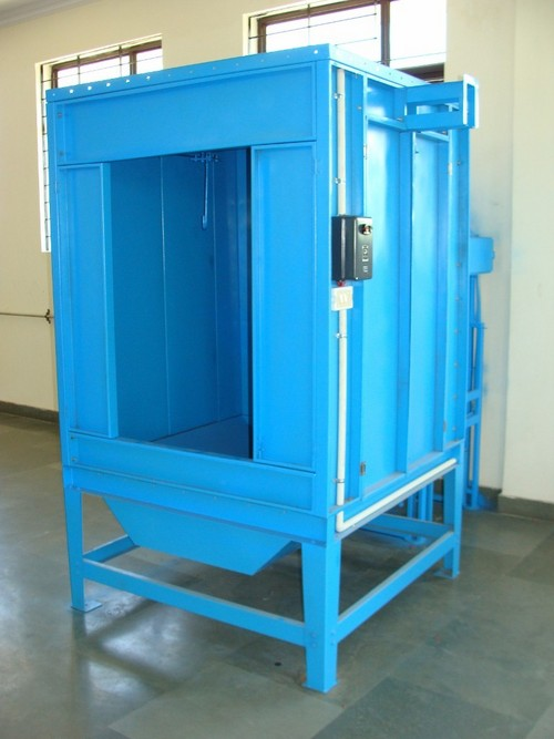 Powder Coated Booth - Single Operator