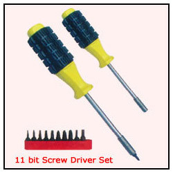 Bit Screw Driver Set