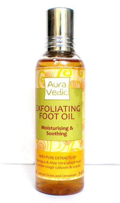 Aurvedic Exfoliating Foot Oil