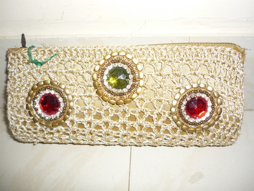 Crochet Clutch Purse in Rajkot, Gujarat, India - BANSI CREATION