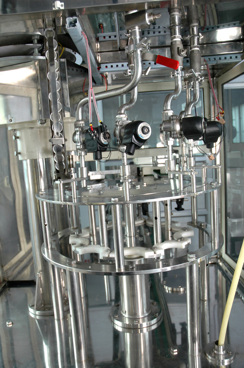 Automatic Bottle Washing Filling And Capping Machine