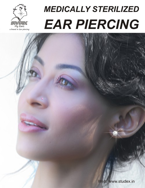 Medically Sterilized Ear Piercing