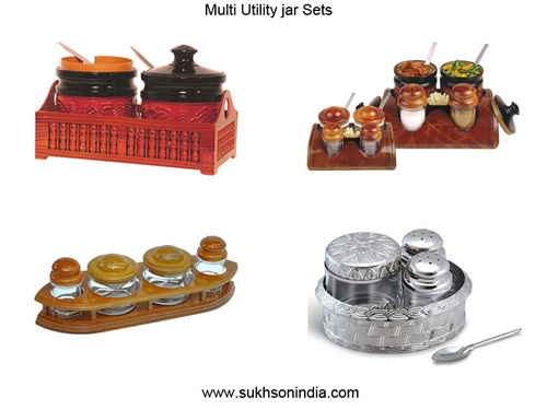 Plastic Multi Utility Jar Sets
